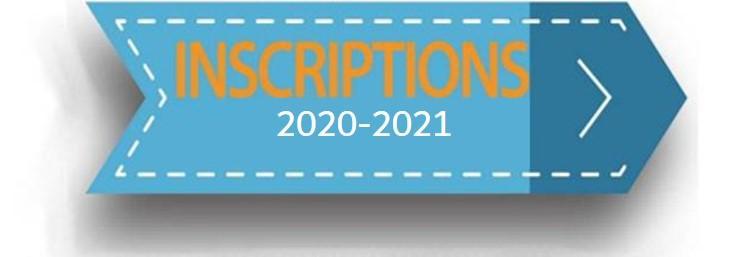Inscription 2020 2021 bis